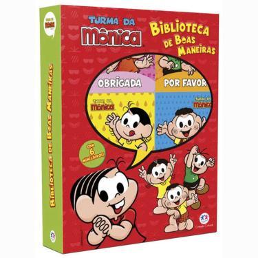 Turma da Mônica - Biblioteca de Boas Maneiras - Cultural, Ciranda - 9788538069539