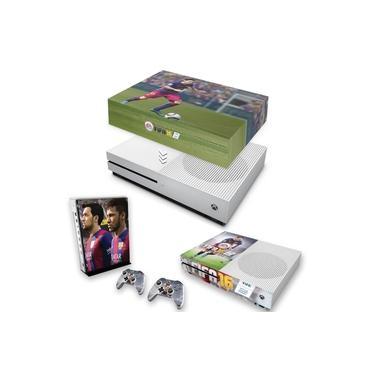 Capa Anti Poeira e Skin para Xbox One S Slim - Fifa 16