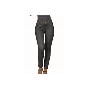 Calça Legging Jeans DeMillus 00115 Preto