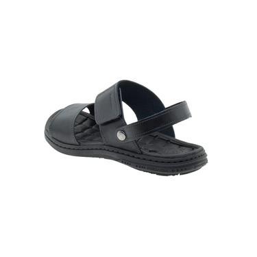 Sandálias Masculinas Pegada Em Couro Confortável Original