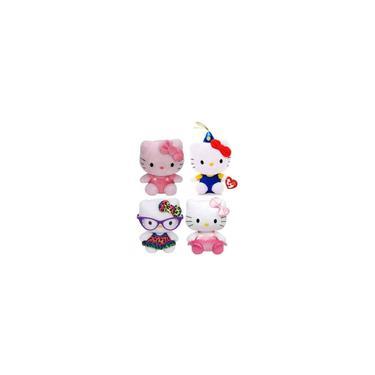 Imagem de Coleção Hello Kitty Com 4 Pelúcias - Sanrio - Original Dtc