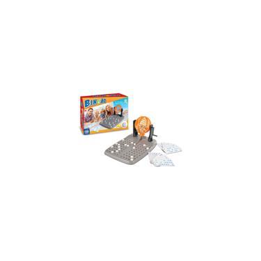 Imagem de Jogo de bingo bingao 100 cartelas - brinquedos nig