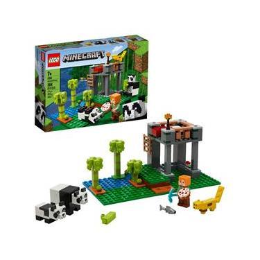 LEGO Minecraft - A Creche dos Pandas 21158 – 204 Peças