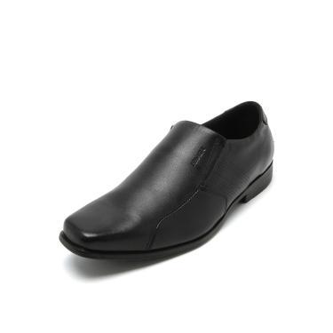 Sapato Social Couro Ferracini Fosco Preto Ferracini 3596-288G masculino