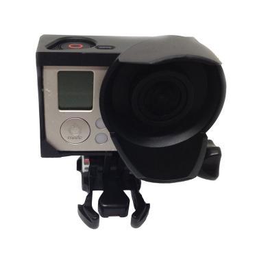 Imagem de LEDMOMO Capa de proteção de câmera padrão com borda para proteção solar para GoPro 3 GoPro 3+ acessórios de câmera de ação