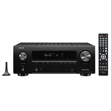 Receiver Denon AVR-X2700H (Modelo 2020) 7.2ch 95W Canal 8K Dolby Atmos eARC - 120V Heinrich Audio