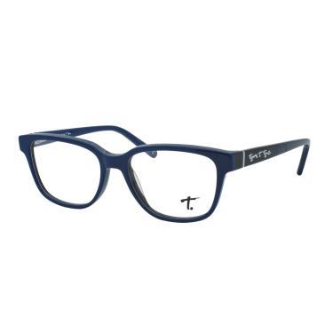 6fa1968ad86db Óculos de Grau Tigor Infantil Masculino VTT077 C04 - Acetato Azul e Preto