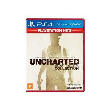 Jogo Ps4 Uncharted Collection Play Hits