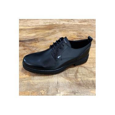 Sapato Ellus Stoned Tratorado Preto Masculino