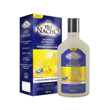 Shampoo Tío Nacho Antiqueda Engrossador com 200ml Tio Nacho 200ml