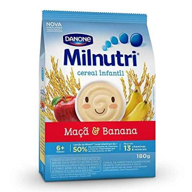 Cereal Infantil Milnutri Banana E Maçã Danone Nutricia 180g