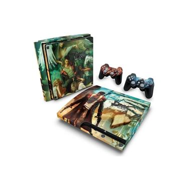Skin Adesivo para PS3 Slim - Devil May Cry