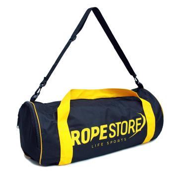 3c9320d51 Bolsa Multifuncional Esportiva Rope Store Preta e Amarelo