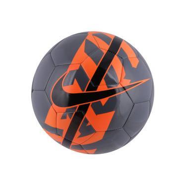 Bola de Futebol de Campo Nike React - CINZA ESC LARANJ ESC Nike 47b026b478f4a