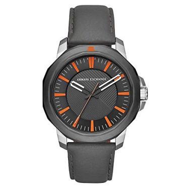d9b4a797ad7 Pechinchas-19% Relógio Masculino Armani Exchange Analógico Ax1904 0Cn Preto  Prata