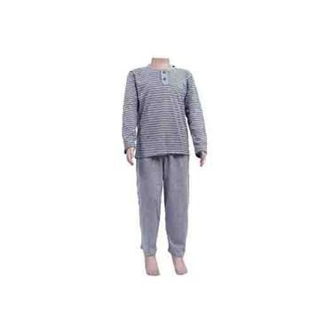 Pijama Infantil menino inverno malha Formosa 2 a 8 anos