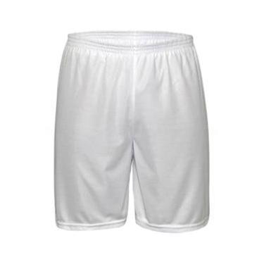 Calção Futebol Kanga Sport - Calção Branco - nº14