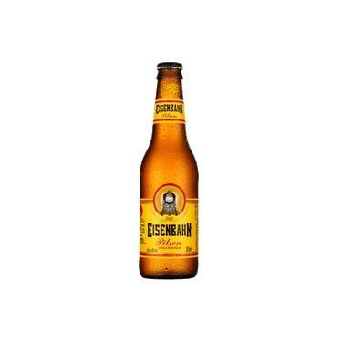 Cerveja EISENBAHN Pilsen Long Neck 355ml - Gelada