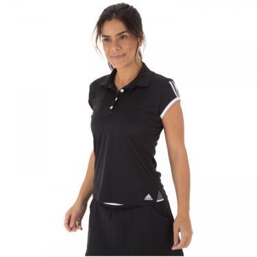 Camisa Polo adidas Club 3S - Feminina adidas Feminino