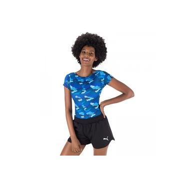 Body Fitness Oxer Estampado Victoria - Feminino