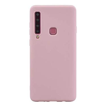 Capa Grandcase Galaxy A9 (2018), capa protetora ultrafina de silicone macio TPU fosco absorção de choque anti-queda para Samsung Galaxy A9 (2018) 6,3 polegadas – Rosa
