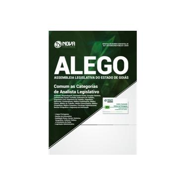 Imagem de Apostila Assembleia Legislativa De Goiás (alego) 2018 - Comum As Categorias De Analista Legislativo