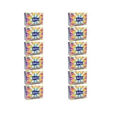 Softys Lenço De Papel C/100 (Kit C/12)