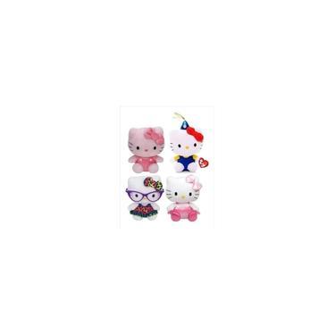 Imagem de Coleção Hello Kitty Com 4 Pelúcias - By Sanrio - Original