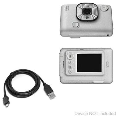 Cabo Fujifilm Instax Mini LiPlay, BoxWave [cabo DirectSync] durável de carregamento e sincronização para Fujifilm Instax Mini LiPlay