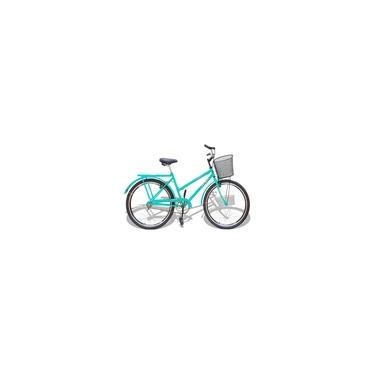 Bicicleta Aro 26 Wendy Modelo Poti Com Cesta Cores