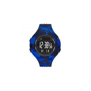 300ddbb5150 Relógio Adidas Masculino Ref  Adp3224 8an Digital Camuflagem