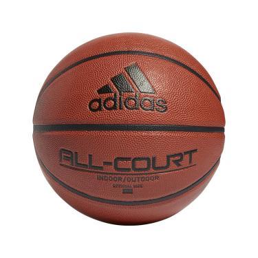 Bola Basquete Adidas All Court 2.0 GL3946, Cor: Marrom/Preto, Tamanho: 7