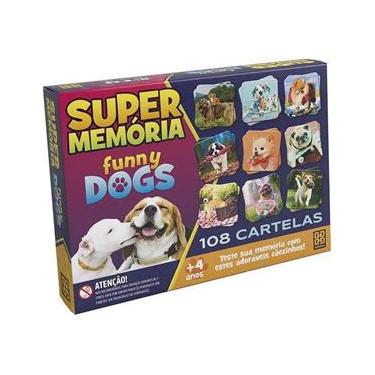Imagem de Jogo Super Memoria Funny Dogs Grow 03935