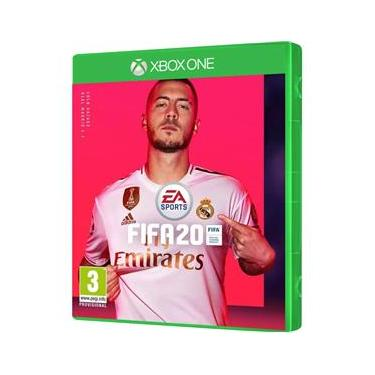Jogo FIFA 20 em espanhol / inglês / francês Xbox One