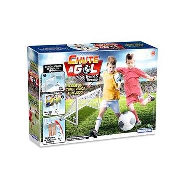 Jogo Futebol Chute A Gol Treino e Torneio - Brinquemix Cag180