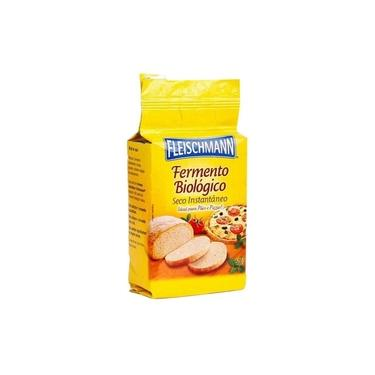 Fermento Biológico Seco Fleischman 500G Massa Pão Pizza Pães