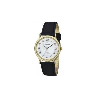 5a223cf1772 Relógio analógico unissex champion dourado ch22288m