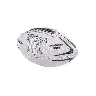 Bola de futebol americano Nfl Avenger Junior Prata Wilson 8599de9d9678f
