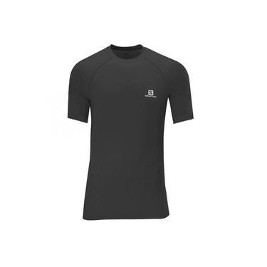 Camiseta Salomon Hybrid SS Masculino Preto