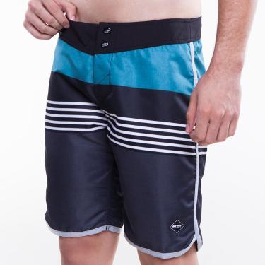 Boardshort masculino sublimado color emotion mormaii Cinza-estampa 38