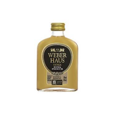 Cachaca Extra Premium Weber Haus 160 Ml Weber Haus Sabor 160 Ml