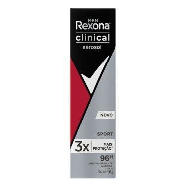 Imagem de Desodorante Rexona Aerosol Men Clinical Sport 150ml