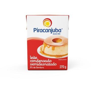 Imagem de Leite Condensado Piracanjuba Tetra Pack 270g - Embalagem com 27 Unidades