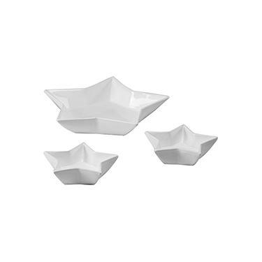 Imagem de Conjunto de Petisqueira Estrela 3 pçs Branca - La Cuisine Basics