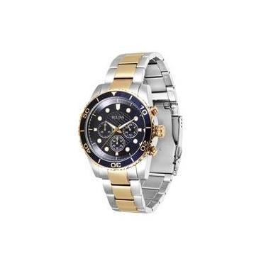 aa7b7520495c7 Relógio de Pulso Masculino Aço Resistente a àgua Cronógrafo ...