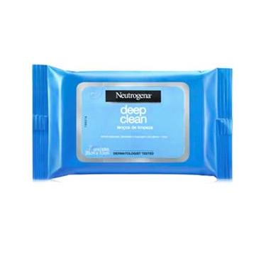 Lenço Demaquilante Neutrogena Deep Clean – 7 Unidades