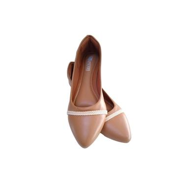 Sapatilha feminina marrom - Sapatilha bico fino
