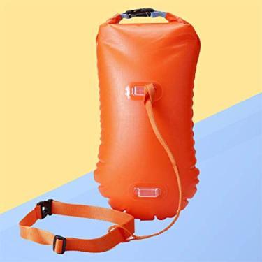 BESPORTBLE Ultraleve Segurança Luz Flutuador Bóia de Natação À Prova D' Água Saco de Natação Em Águas Abertas Nadar Bóia Flutuante para O Treinamento de Segurança E de Corrida