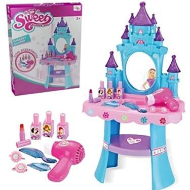 Imagem de Penteadeira Encantada Brinquedo Infantil com Acessórios