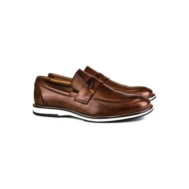 Sapato Masculino Brogue Comfort Castor 8001 Tamanho:43